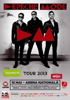 Concert Depeche Mode la Bucureşti