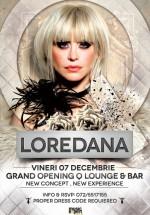 Concert Loredana în Q Lounge & Bar din Bacău