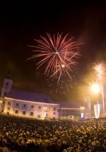 Revelion 2013 în Piaţa Mare din Sibiu