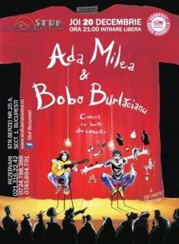 Concert Ada Milea în Stuf Vama Veche din Bucureşti