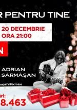 Concert Adrian Sărmăşan în Aida Cafe din Bucureşti