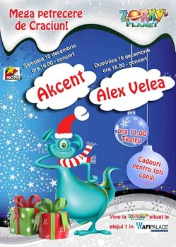Mega petrecere de Crăciun la AFI Palace Cotroceni din Bucureşti