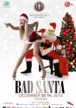 Bad Santa Party în Club Bamboo din Bucureşti