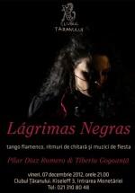 Concert Pilar Diaz Romero – Lagrima Negras la Clubul Ţăranului din Bucureşti
