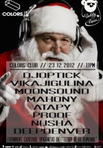 DJ Optick, Vika Jigulina, MoonSound în Colors Club din Bucureşti