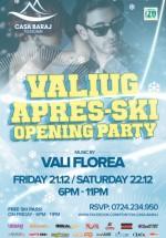 Apres-Ski Opening Party la Telescaun Casa Baraj din Crivaia