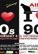 I Love the 80's, I Love the 90's în Aida Cafe din Bucureşti