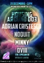 Adrian Cristescu, Noquit, Minny şi Ovii în Colors Club din Bucureşti
