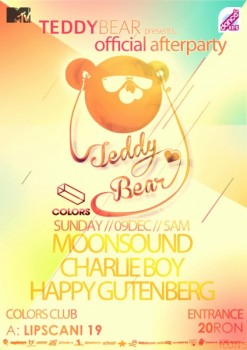 MoonSound, Charlie Boy, Happy Gutenberg în Colors Club din Bucureşti