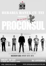 Concert Proconsul la Berăria Hanul cu Tei din Bucureşti