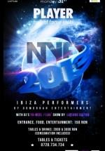 New Year's Eve 2013 în Player Club din Bucureşti