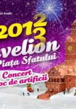 Revelion 2013 în Piaţa Sfatului din Braşov