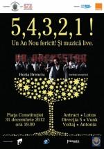 Revelion 2013 în Piaţa Constituţiei din Bucureşti