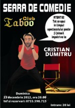 Stand-up Comedy în Club Taboo din Lugoj