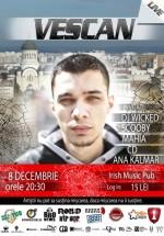 Concert Vescan în Irish Music & Pub din Cluj-Napoca