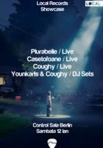 Plurabelle, Casetofoane, Younkarls & Coughy în Control Club din Bucureşti