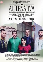 Concert Space Clinic în Club Expirat din Bucureşti