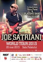 Concert Joe Satriani la Sala Palatului din Bucureşti
