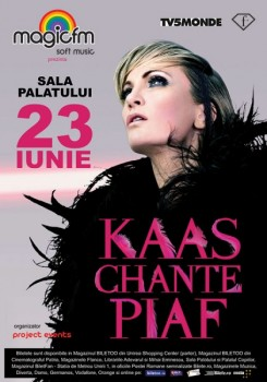 Concert Patricia Kaas la Sala Palatului din Bucureşti