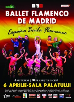 Ballet Flamenco de Madrid la Sala Palatului din Bucureşti – ANULAT