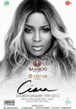 Concert Ciara în Club Bamboo din Bucureşti