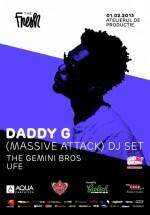Daddy G (Massive Attack DJ Set) în Atelierul de Producţie din Bucureşti