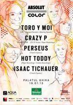 Toro Y Moi, Crazy P, Perseus, Hot Toddy şi Isaac Tichauer la Palatul Ghika din Bucureşti