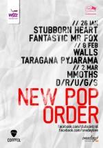 New Pop Order cu Walls în Control Club din Bucureşti