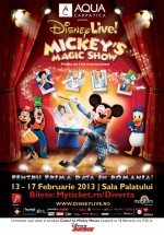 Disney Live! Mickey's Magic Show la Bucureşti