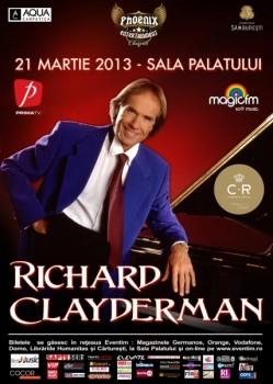 Concert Richard Clayderman la Sala Palatului din Bucureşti
