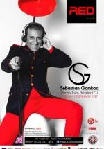 Sebastian Gamboa în Red Club din Bucureşti