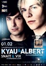 Kyau & Albert în Studio Martin din Bucureşti
