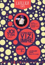 Concert Vizi Imre în L'Atelier Cafe din Cluj-Napoca