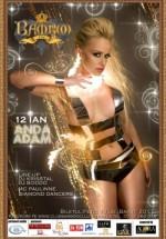 Concert Anda Adam în Club Bamboo din Cluj-Napoca