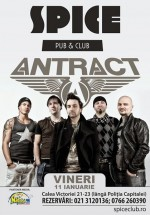 Concert Antract în Spice Club din Bucureşti