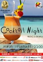 Cocktail Night în Shakespeare Bar din Bucureşti