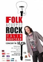 Concert acustic Călin Bârcean în LifePub din Timişoara