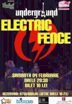 Concert Electric Fence în Undergroud Pub din Iaşi