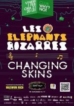 Concert Les Elephants Bizzares şi Changing Skins în Club Why?Not din Bucureşti