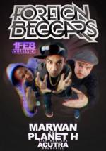 Concert Foreign Beggars în Club Midi din Cluj-Napoca