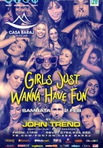 Girls Just Wanna Have Fun la Telescaun Casa Baraj din Crivaia