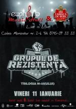 Concert Grupul de Rezistenţă în Euphoria Music Hall din Cluj-Napoca