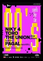 Niky 4, Toro, The Union (DJ Set) în Studio Martin din Bucureşti