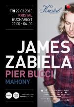 James Zabiela în Kristal Club din Bucureşti