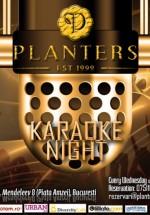 Karaoke Night în Club Planters din Bucureşti