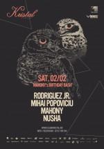 Rodriguez Jr., Mahony, Nusha şi Mihai Popoviciu în Kristal Club din Bucureşti