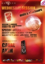 Wednesday Session: Caval şi Akim în Barocco Bar din Bucureşti