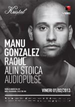 Manu Gonzalez în Kristal Club din Bucureşti