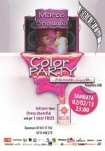 Color Party cu Marco Briguglia în Frame Club din Bucureşti