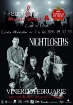 Concert Nightlosers în Euphoria Music Hall din Cluj-Napoca